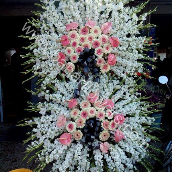 تاج گل تسلیت کد 239