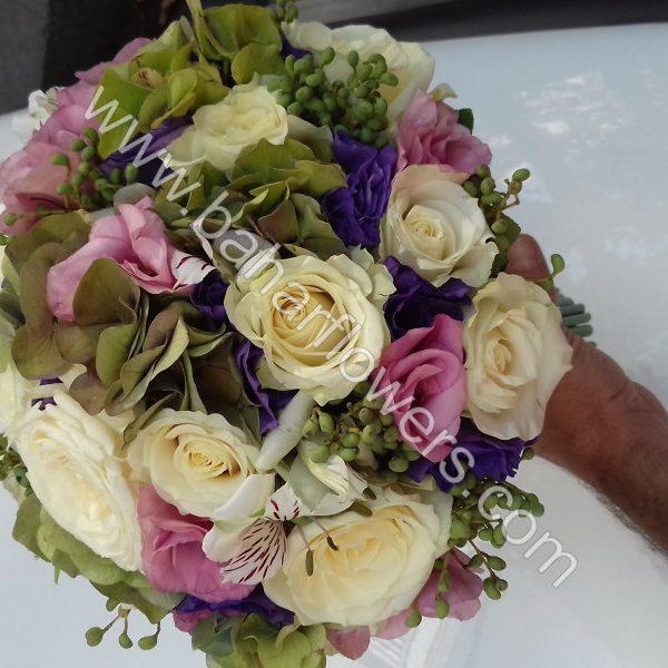 دسته گل عروس 610