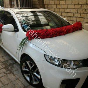 گل ماشین عروس کد 601