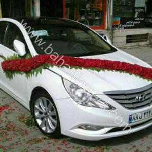 گل ماشین عروس کد 603