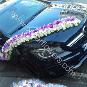 گل ماشین عروس کد 608