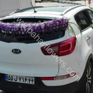 گل ماشین عروس کد 609