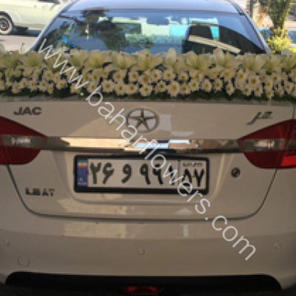 گل ماشین عروس کد 612