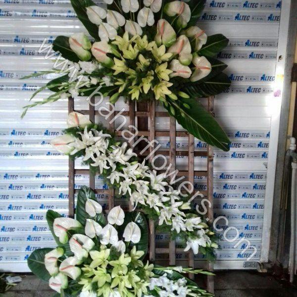 گل مراسم ختم و ترحیم کد 215