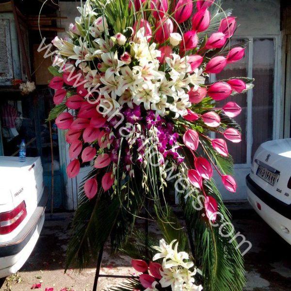 گل مراسم ختم و ترحیم کد 229