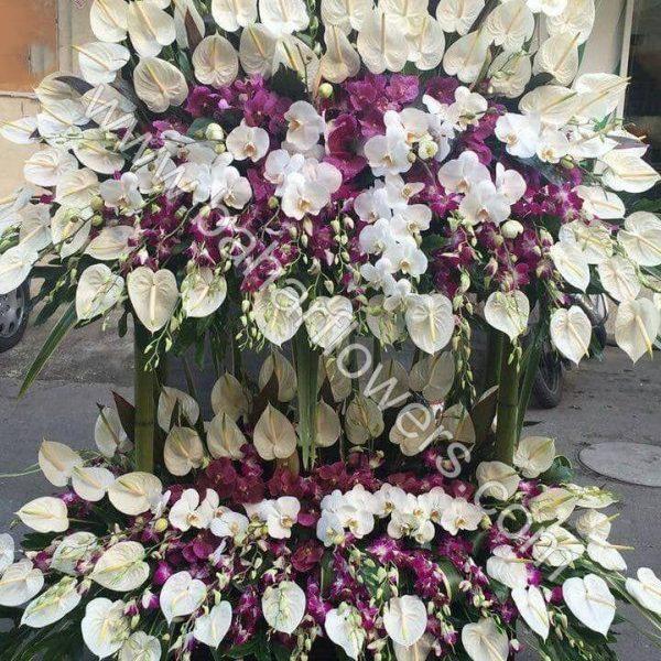 گل مراسم ختم و ترحیم کد 247