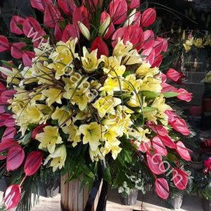 گل مراسم ختم و ترحیم کد 249