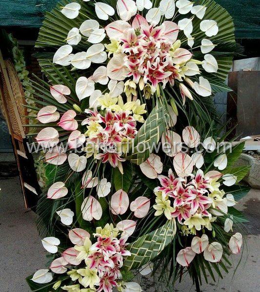 تاج گل افتتاحیه و تبریک کد 223