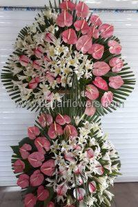 تاج گل های افتتاحیه و ترحیم کد 240 گالری گل بهار