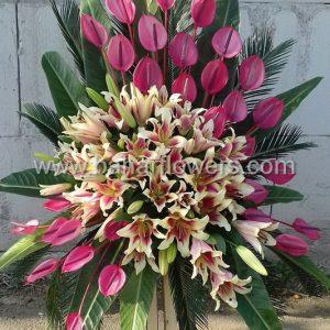 پایه گل تبریک و افتتاحیه کد 228