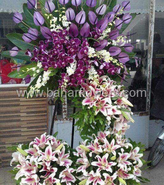 پایه گل تبریک 4 طبقه کد 230